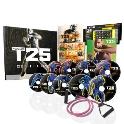 FOCUS T25 Shaun T's NEW Workout DVD Program