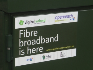 BT Openreach FTTC in Clipsham