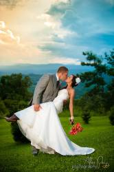 Photo Moment at The Cabin Ridge - Outdoor Wedding Venue in WNC