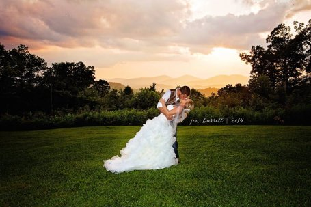 Sunset Wedding in the Mountains