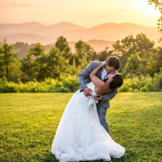 June Wedding at The Cabin Ridge Outdoor Mountain Top Wedding Venue