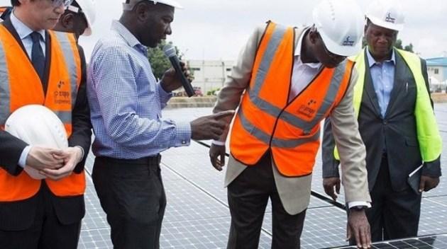 Fashola inaugurates Japanese 1.2MW solar power donation to Nigeria