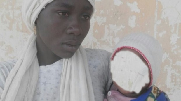 JUST IN: Chibok girl found with six-month-old baby
