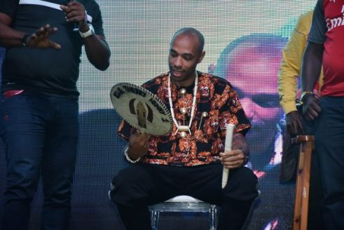 Image result for Thierry Henry crowned 'igwe of football' in Lagos pics