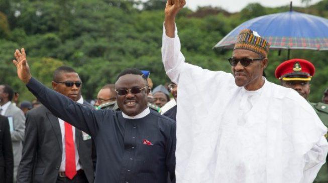 Image result for PDP governor to accompany Buhari to Togo