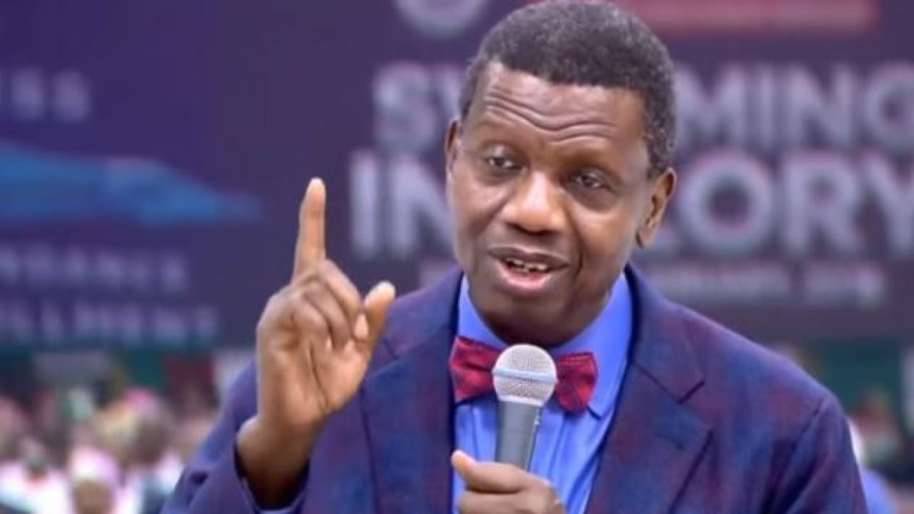 Image result for I'm not silent on national issues –Adeboye