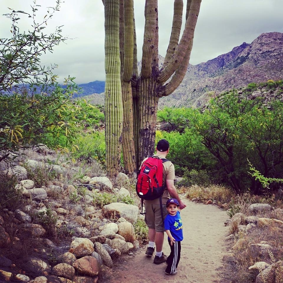 If you're looking for an easy hike for children in Tucson, then the Canyon Loop Trail at Catalina State Park should be on your list.