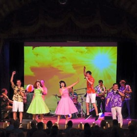 Beach Blanket Be-Bop:  Fun for the Whole Family at the Gaslight Music Hall