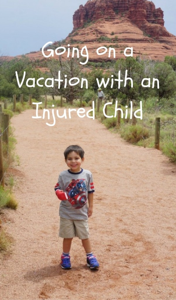 Going on Vacation with an Injured Child.