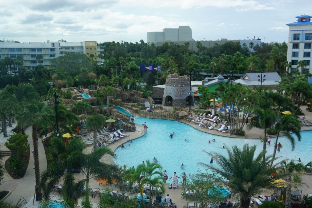 The view from Sapphire Falls Resort is spectacular.