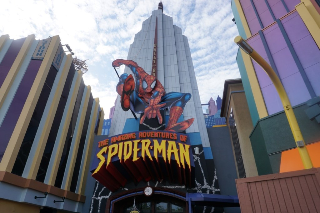 Spiderman is one of my favorite rides at Islands of Adventure. But it can be a little scary for preschool aged children.