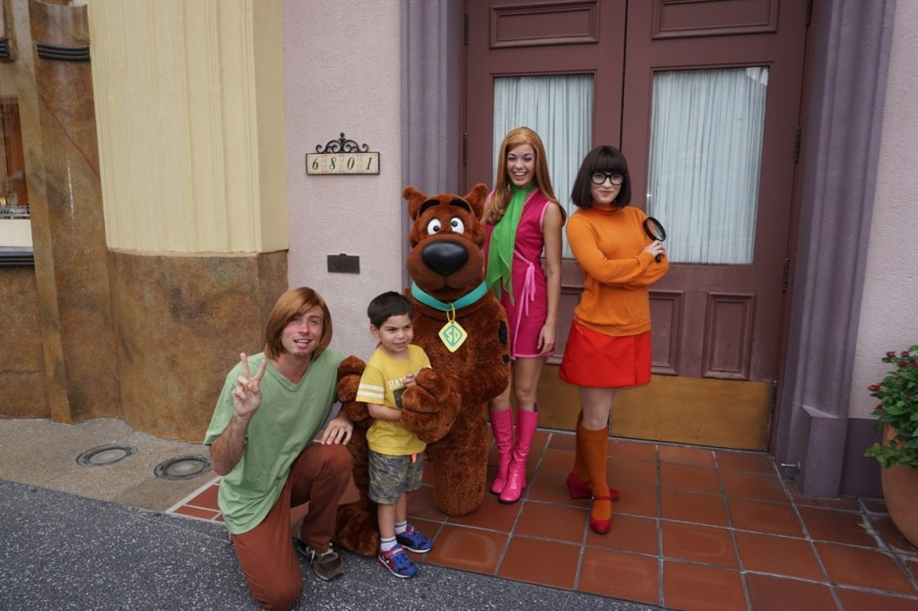 Another highlight? Scooby and the Gang!