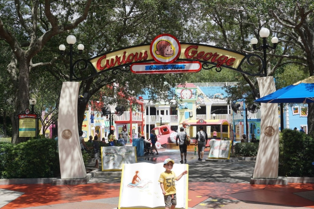 The Curious George area at Universal Studios Florida was a favorite of my son's, but be prepared for getting soaked.