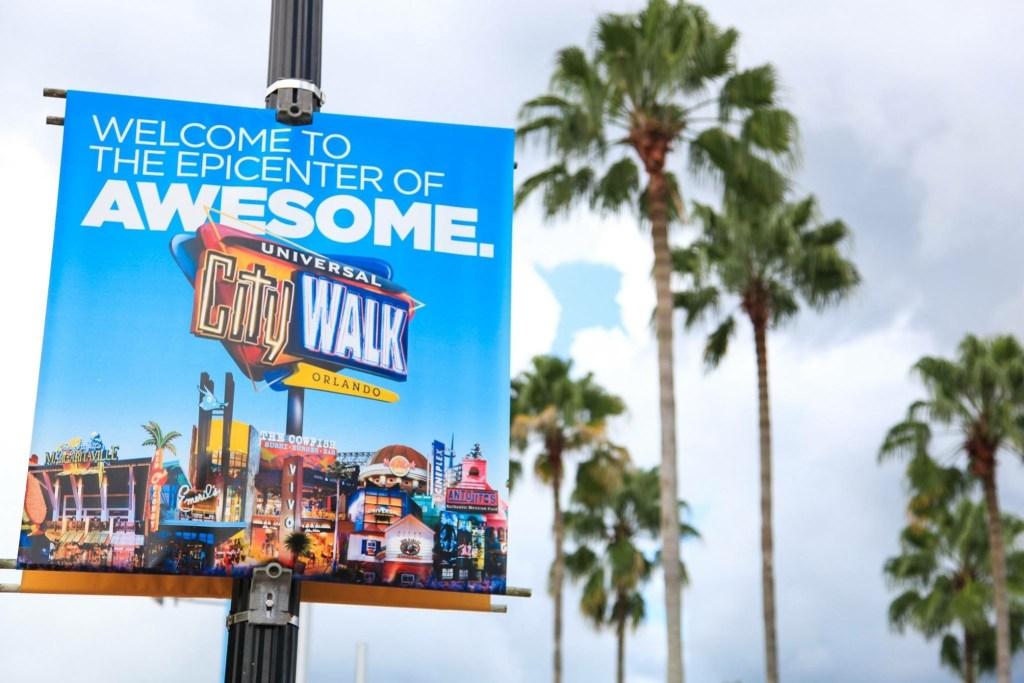 Universal CityWalk is a happening place, day or night. Photo by Melinda Johnson at Melinda Jae Photography, http://melindajae.com