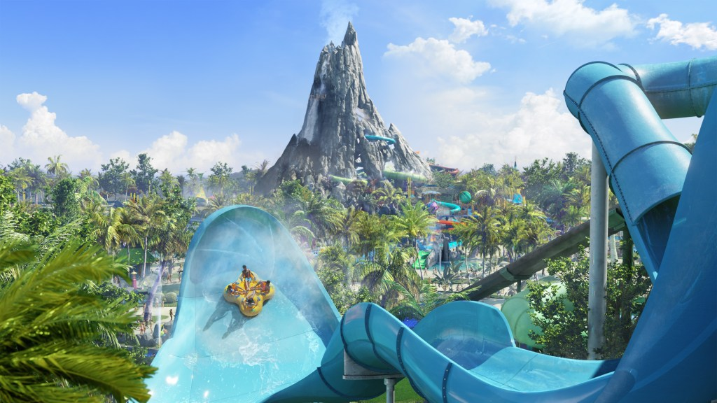 Volcano Bay, coming soon to Universal Orlando Resort in 2017. Photo provided by Universal Orlando Resort.