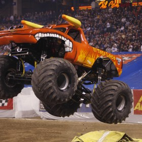 A Giveaway and Discount Code for Monster Jam in Tucson!