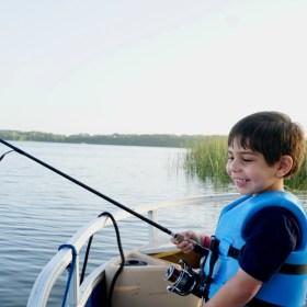 Fishing at Walt Disney World with Preschoolers