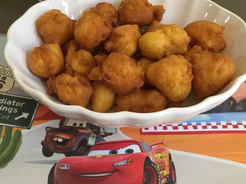 Miss Fritter's Corn Fritters: An Easy Cars 3 Recipe!