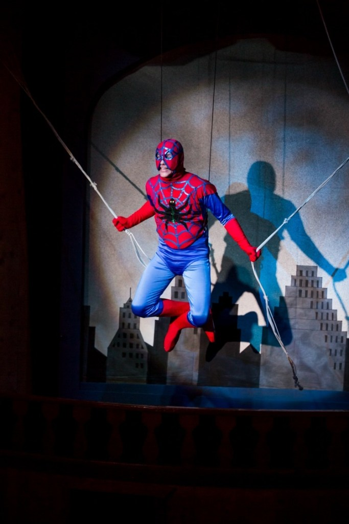 The Incredible Spider-Guy! Photo provided by Gaslight Theatre.