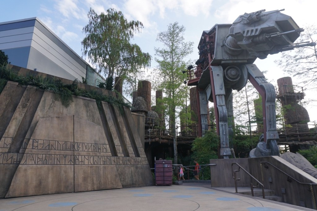 Hollywood Studios at Disney World has more for the Star Wars fan.