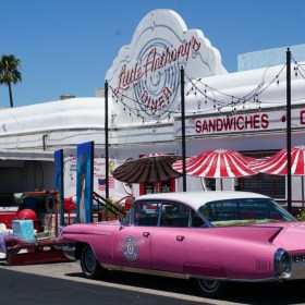 Introducing the Big Bopper Milkshakes at Little Anthony's Diner (Giveaway)