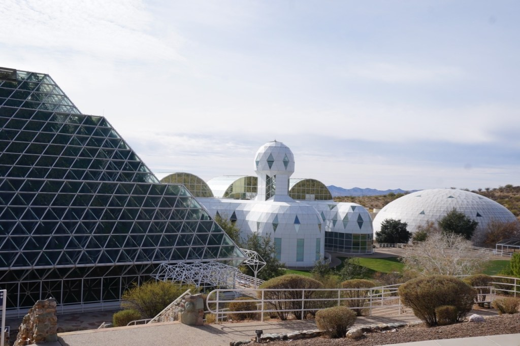 Biosphere 2 is located near Tucson off the beaten path.