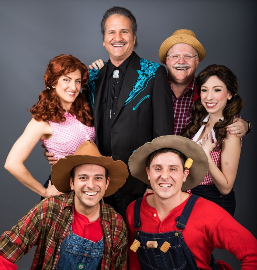 The cast from The Hee Haw Country Western Revue, including Gaslight favorite, Armen Dirtadian. Photo provided by the Gaslight Music Hall in Oro Valley.