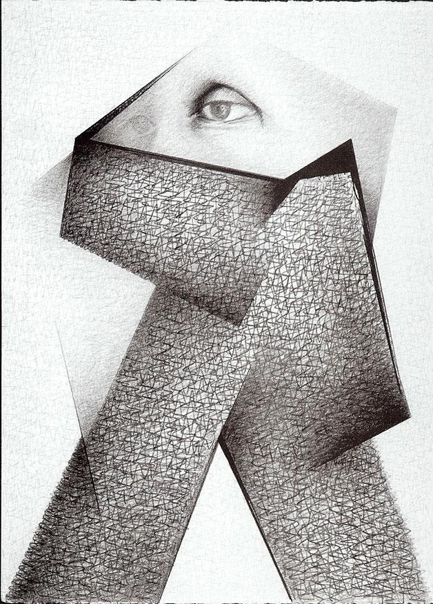 Serie Inesperada, Graphite 1999 by Auslender