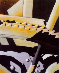 Ratchet, acrylic by Susan Wilder