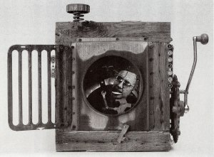 The Cube by James Chase, assemblage
