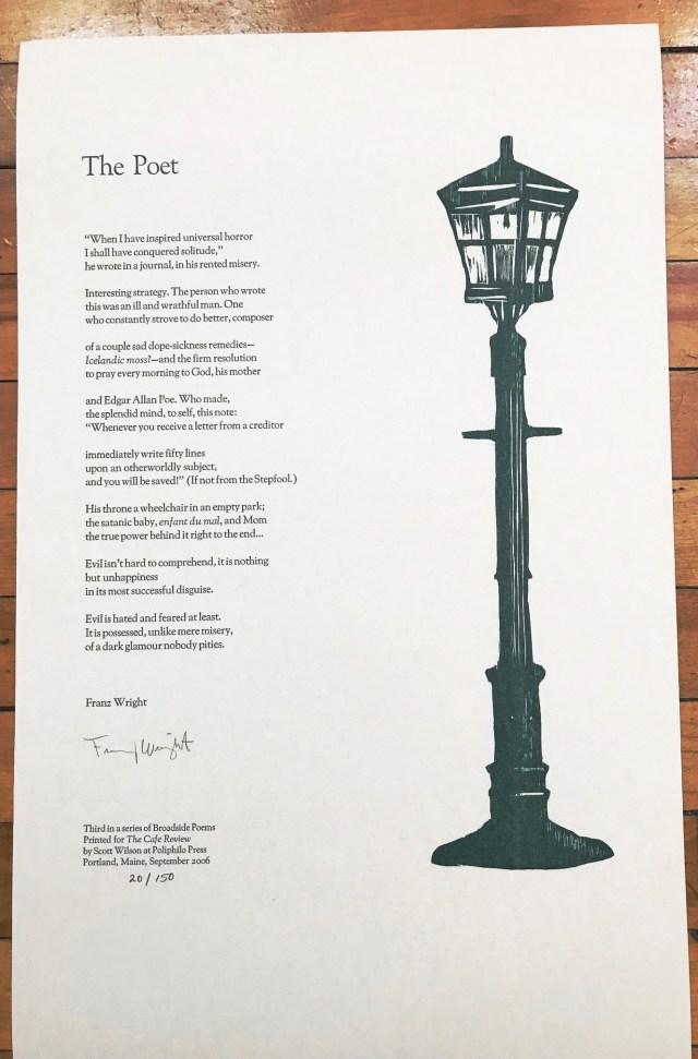 Paris Review - Robert Creeley, The Art of Poetry No. 10