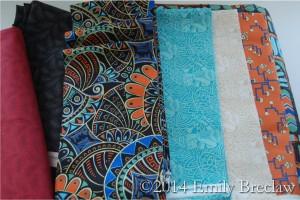 new Downton Abbey fabrics from Andover