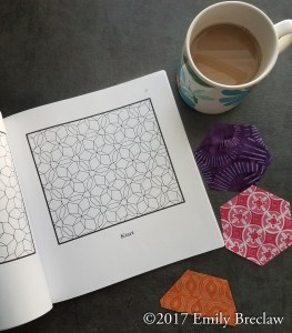 inside image of Hexagonal Tilings and Patterns showing a star design