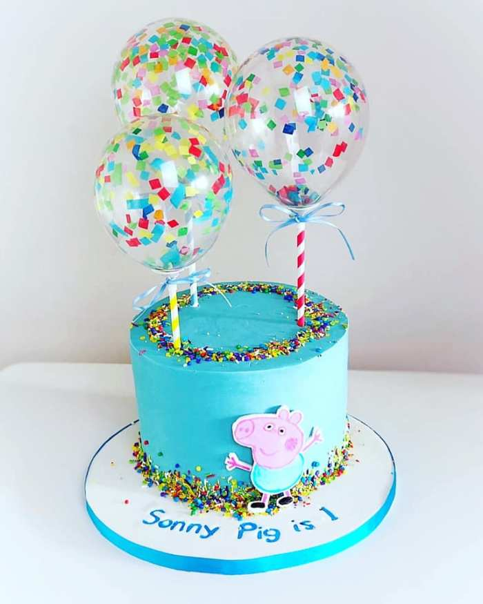 Stupendous Confetti Cake Balloon Kits The Cake Decorating Co Blog Personalised Birthday Cards Paralily Jamesorg