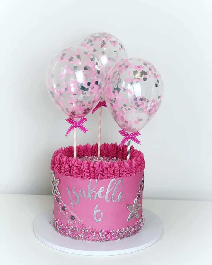 Marvelous Confetti Cake Balloon Kits The Cake Decorating Co Blog Personalised Birthday Cards Paralily Jamesorg