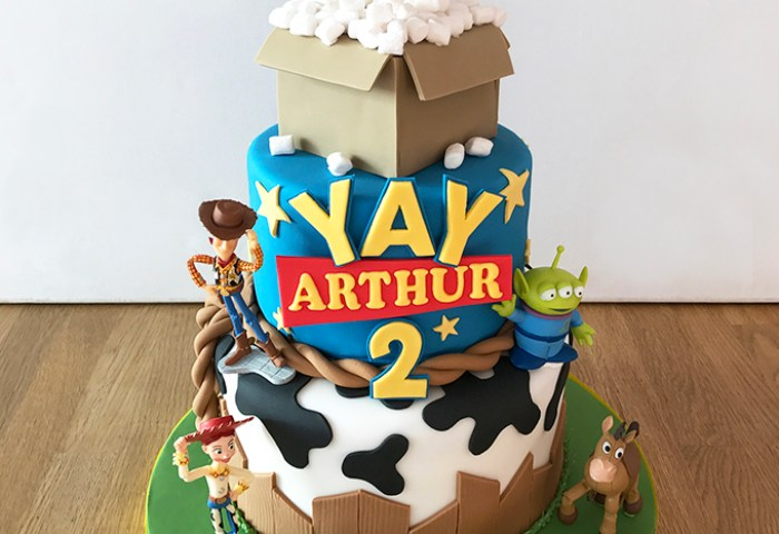 Toy Story 2nd Birthday Cake The Cakery Leamington Spa