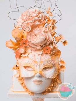 Summer Face Cake By The Brighton Cake Company