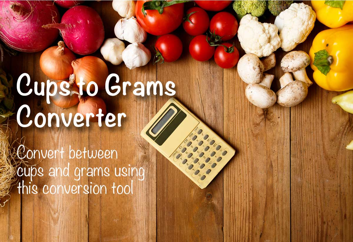Cups To Grams Converter