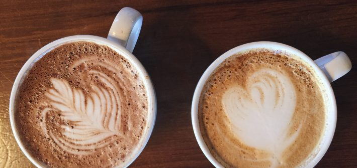 Lattes Coffee The Californienne
