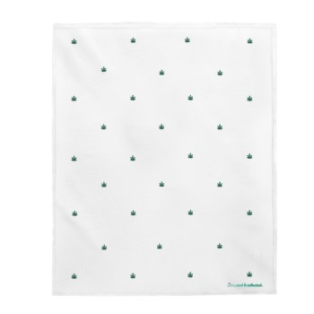 THE CALM, COOL & COLLECTED <br> White Quitting Time Blanket