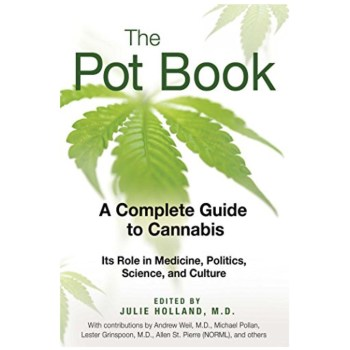 THE POT BOOK <br> by Julie Holland, MD