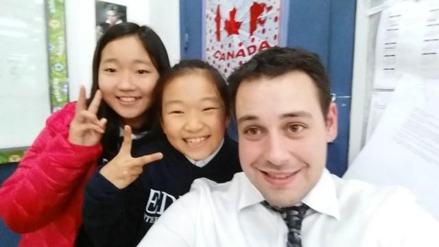 Sean Teaching English in Korea