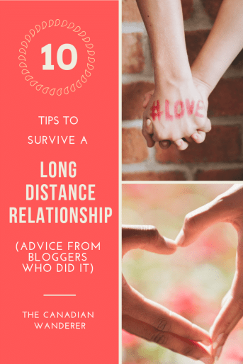 10 Tips to Survive a Long Distance Relationship - Advice From Real Travel Bloggers!