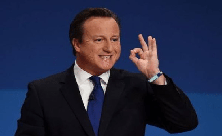 The real reason David Cameron quit as an MP makes Britain a laughing stock