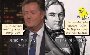 Piers Morgan history