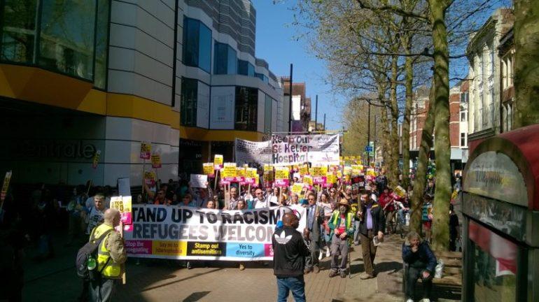 Croydon Refugee Demo Three