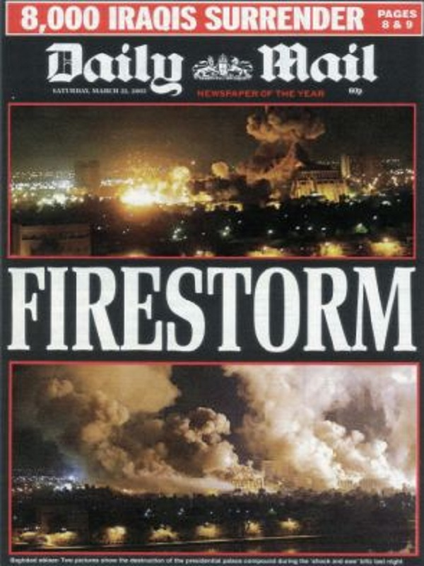 Daily Mail Iraq War