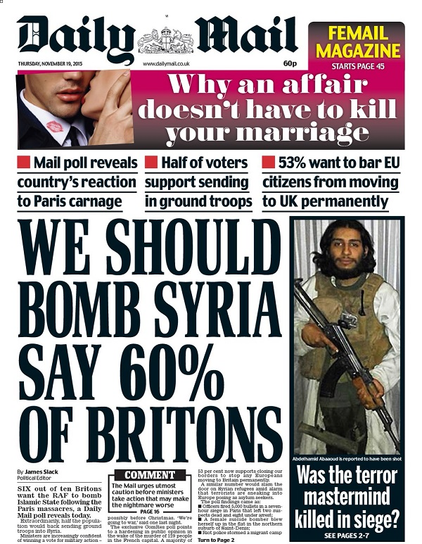 Daily Mail Syria