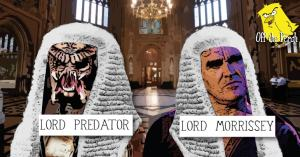 An image of Lord Predato and Lord Morrissey