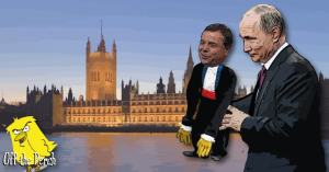Putin operating Arron Banks like a puppet